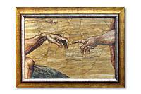 Картина мозаичная натуральный мрамор №52