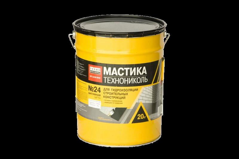 Мастика Технониколь №24 МГТН, 20 кг