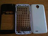 Корпус для смартфона Lenovo S820 белый цвет, фото 3