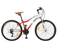 Спортивный велосипед Profi G26K329-UKR красно-белый