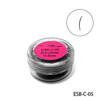 Ресницы в банке используемые для поресничного наращивания, ESB-C-05