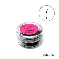 Ресницы в банке используемые для поресничного наращивания, ESB-C-07
