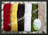 Комплект лицевых бамбуковых полотенец Cestepe Yaprak Турция