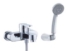 Змішувач для ванни Invena Roland Exe