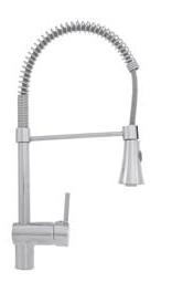 Змішувач для кухні, вертикальний Invena Resista, фото 1