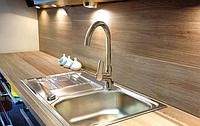 Змішувач для кухні, вертикальний Invena VERSO, стоячий з виливом LUX, фото 1