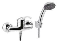 Змішувач для ванни з душ. набором Invena INIS CHROM