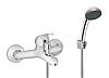 Змішувач для ванни з душ. набором Invena Mitris