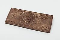 Шоколадная купюра 100 долларов для жены
