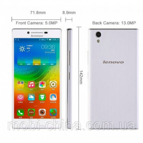Смартфон Lenovo P70T 16GB White, фото 2