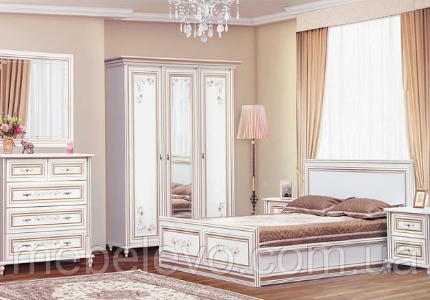 Спальня Сорренто комплект №1 прованс Світ Меблів