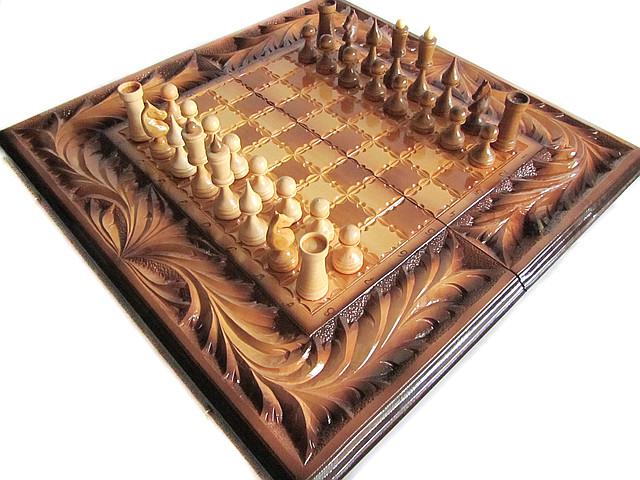 Оригинальный настольный подарок, 3 игры, нарды,шахматы,шашки
