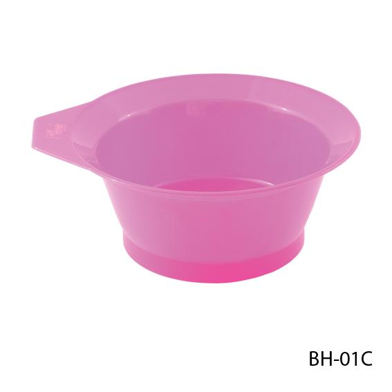 Мисочка для окрашивания волос, цвет:розовый