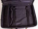 Сумка кейс для ноутбука з шкіри, фото 2