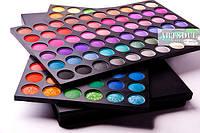 Набор теней для макияжа на 120 цветов №1 make up купить Днепропетровск
