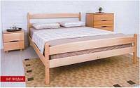 Кровать односпальная  с изножьем из массива бука - 1,2
