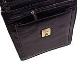Мужской вертикальний портфель на  отделения, фото 4
