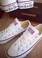 Кеды Converse белые низкие Адаптивная, Текстиль, Вьетнам или Китай, 35