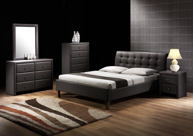 Кровать SAMARA темно-коричневый Halmar