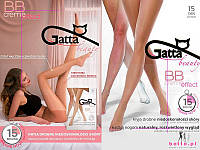 Колготки маскирующие недостатки кожи Gatta beauty BB creme effect 15