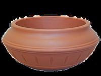 """Эко вазон Ф450 мм """"Терракот"""" уличные горшки (кашпо, термочаши) для цветов"""
