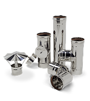Трубы для дымоходов 0,8 мм d=120 мм