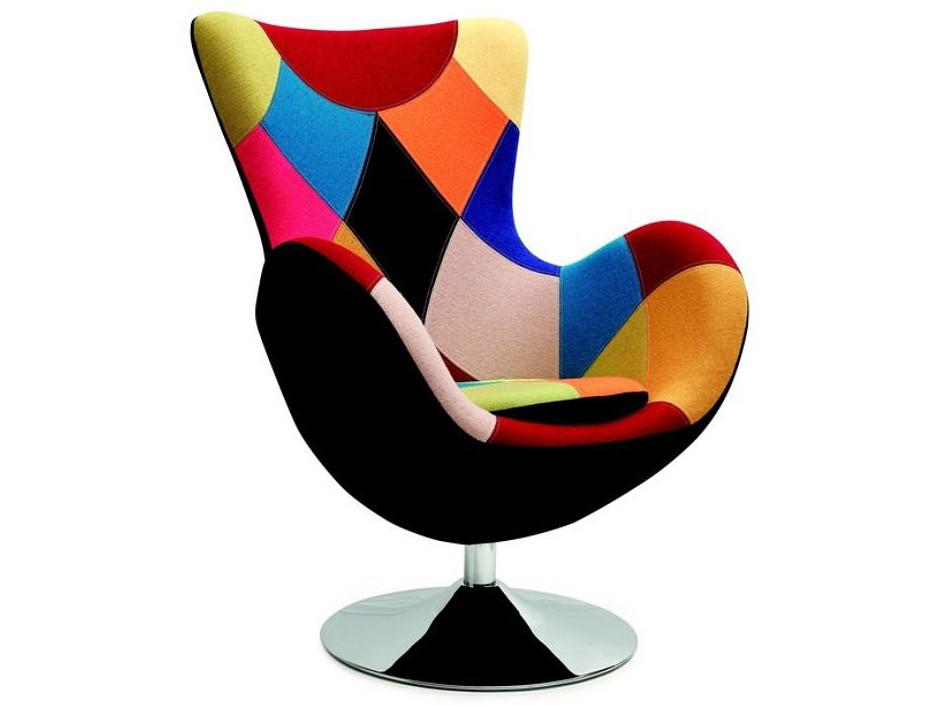 Кресло BUTTERFLY многоцветный Halmar