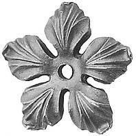 Орнамент растения из металла 52.132