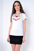 Белая футболка -вышиванка