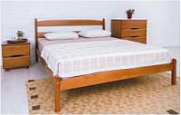 Кровать деревянная двуспальная  без изножья Ликерия - 1,8