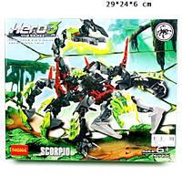 Конструктор HERO3 9766 скорпион, Серия Насекомые
