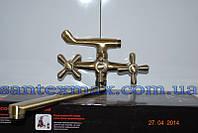 Смеситель для ванной Haiba Dominox 143 Bronze