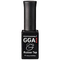 Каучуковое финишное покрытие GGA Professional Rubber Top, 10 мл