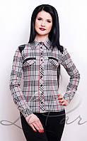 Модная женская рубашка с длинным рукавом 2036