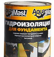 Мастика битумная AquaMast для фундамента, Технониколь, 3 кг
