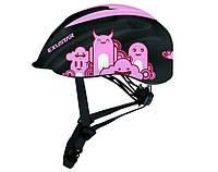 Шлем детский EXUSTAR BHM503K размер 52-57см BK/PK