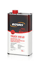 Моторное масло Rovas Truck 10W-40 (1л)/ полусинтетика для грузовиков