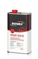 Моторное масло Rovas Truck 15W-40 (1л.)/минеральное для грузовых автомобилей