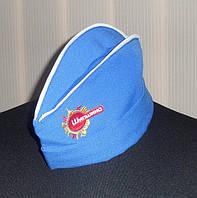 Логотип на пилотке, вышивка