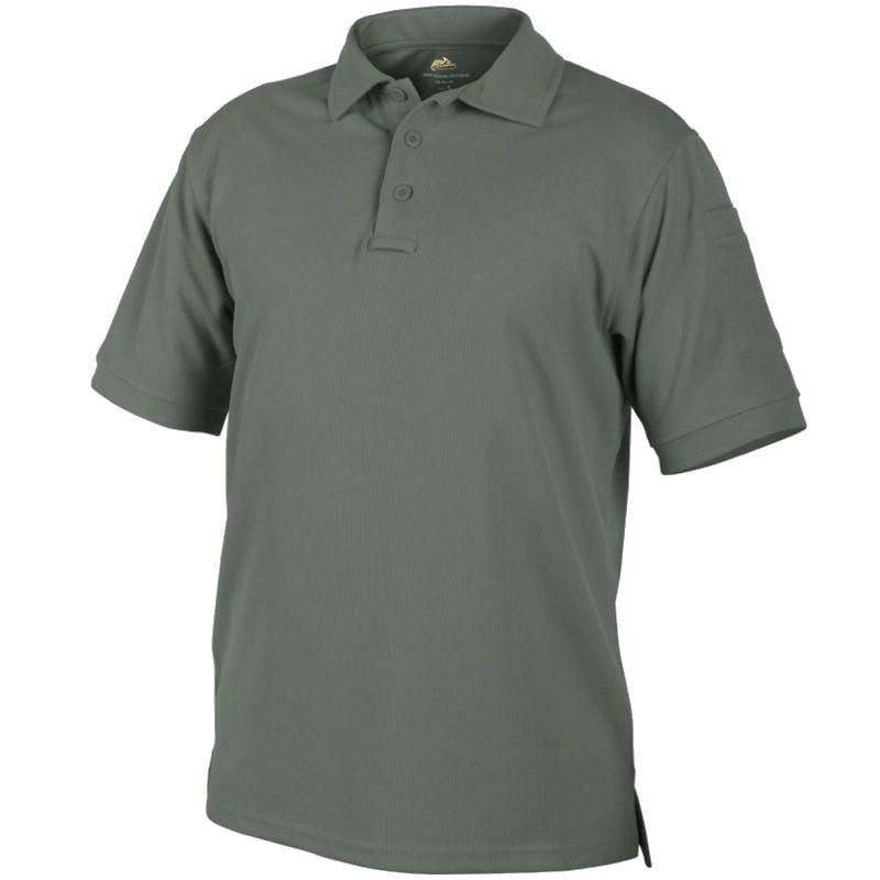 Тактическая футболка Helikon Polo Urban Tactical Top Cool - Foliage Green