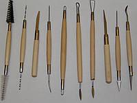 Набор инструментов для скульптора №2 десять шт.