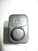 Выключатель (кнопка) регулировки света фар б/у на Nissan Vanette C23