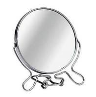 """Зеркало круглое металлическое двухстороннее """"CR-5"""""""