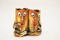 Пенек двойной для аквариума (керамика)