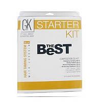 GKhair Taming Best Набор стартовый для процедуры кератинирования (шампунь 300 мл, кондиционер 300 мл, технический шампунь глубокой чистки для