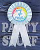 Медаль для мальчика Мне 7, голубая