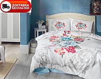 Постельное белье Cotton box Ранфорс Floral Seri 3D VANESSAMAVI