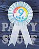 Медаль именинника Мне 9, голубая