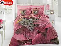 Постельное белье Cotton box Ранфорс Floral Seri 3D BARBARA PEMBE