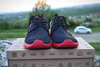 Мужские кроссовки NIke Roshe Run Black /Red